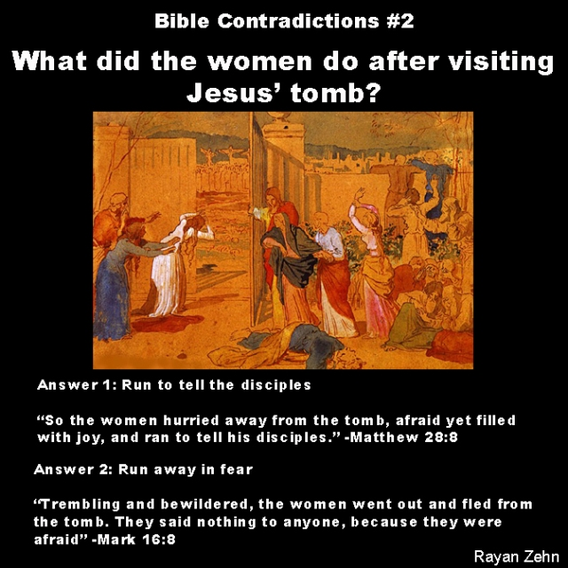 Bible contradictions 2