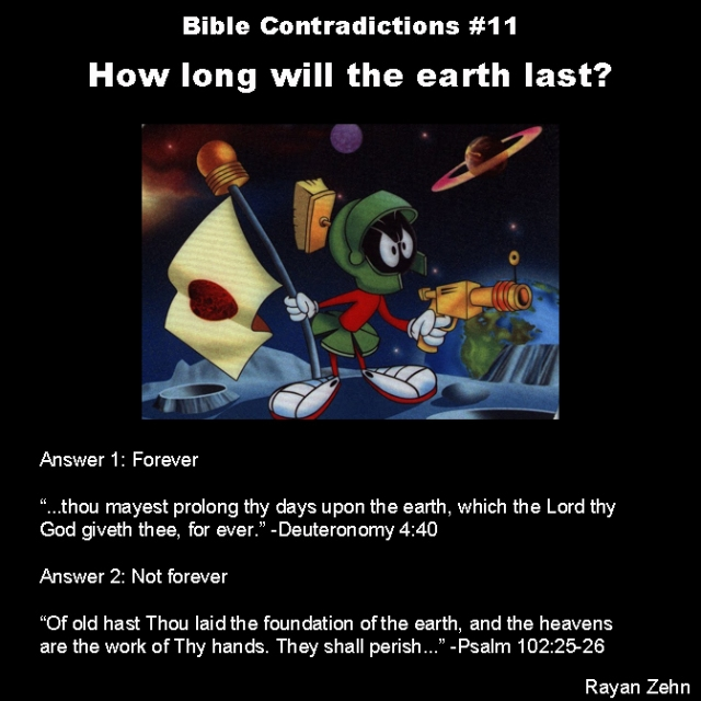 Bible contradictions 11