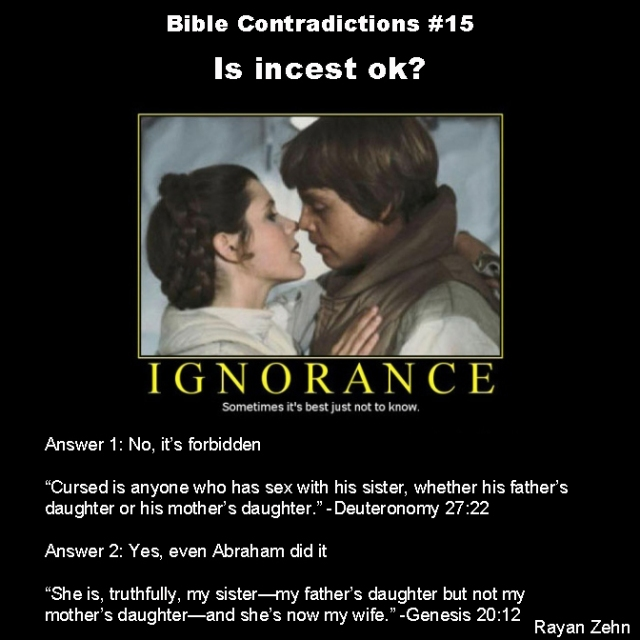 Bible contradictions 15