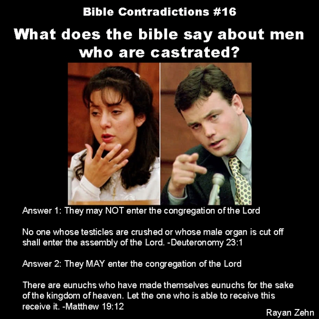 Bible contradictions 16