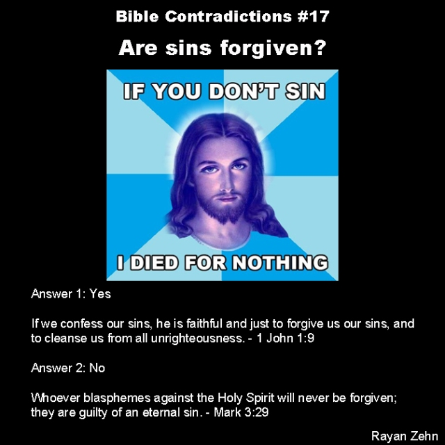 Bible contradictions 17
