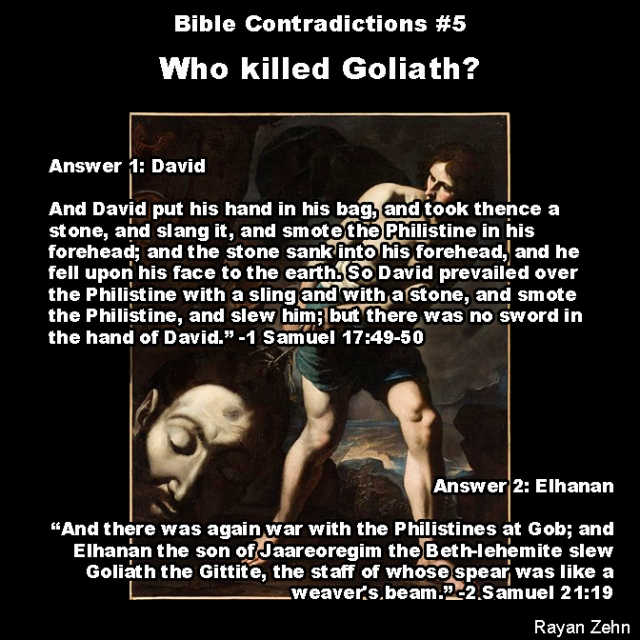 Bible contradictions 5