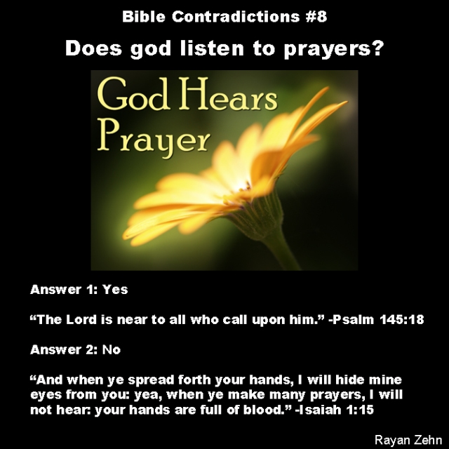Bible contradictions 8