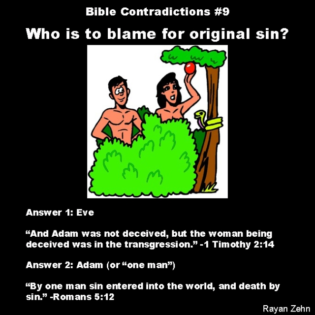 Bible contradictions 9