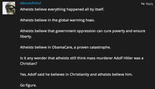 atheists believe