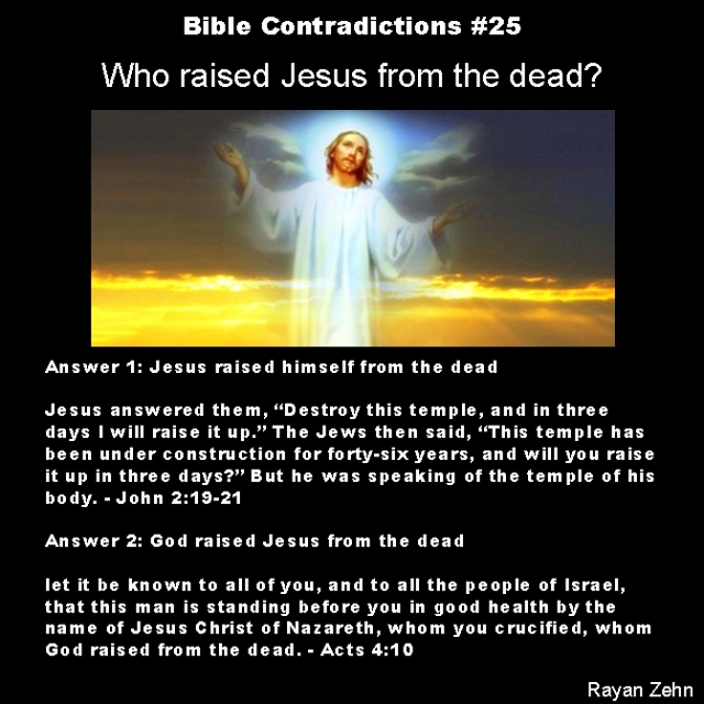 Bible contradictions 25