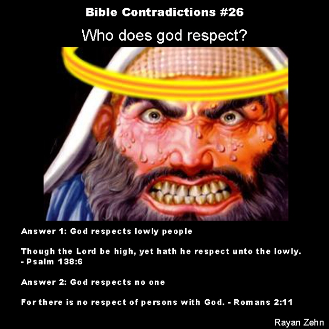 Bible contradictions 26