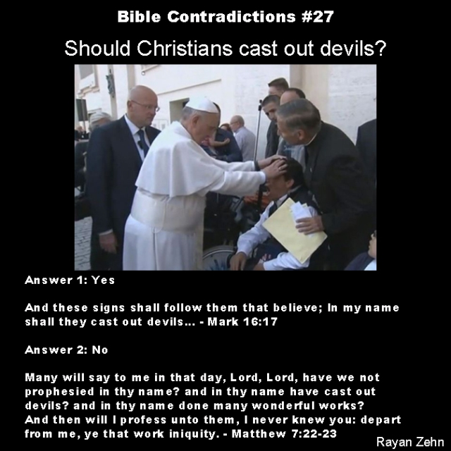 Bible contradictions 27