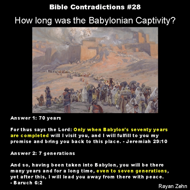 Bible contradictions 28