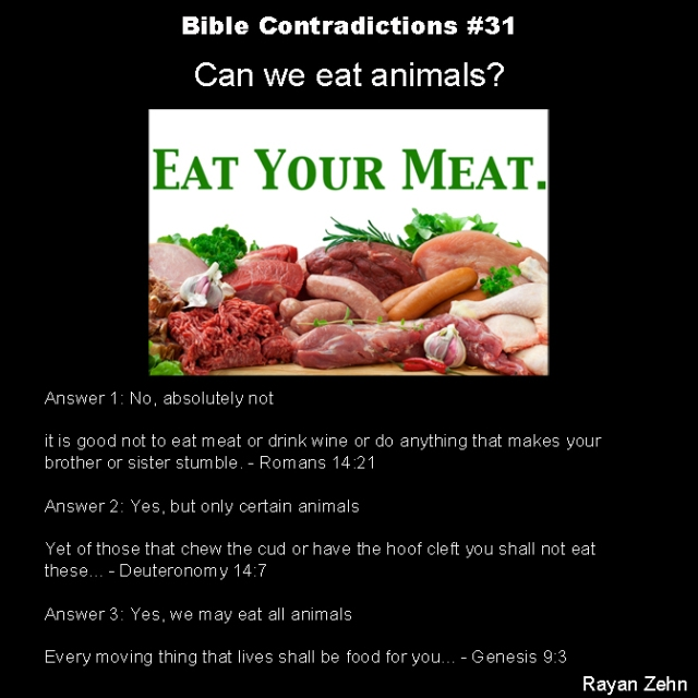 Bible contradictions 31