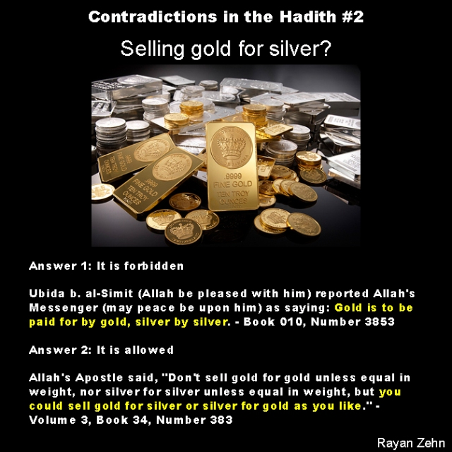 contradictions in the hadith 2