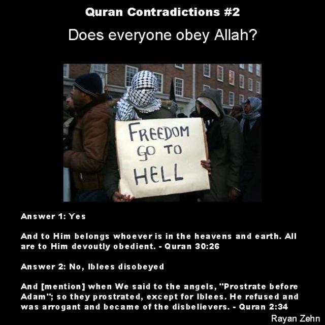 quran contradictions 2