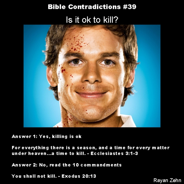 Bible contradictions 39