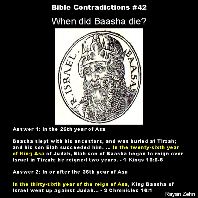 Bible contradictions 42