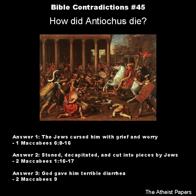Bible contradictions 45