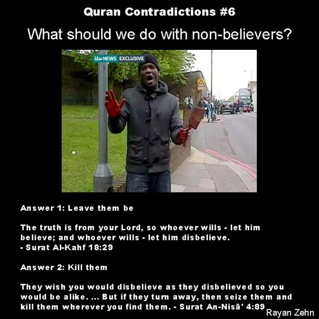 quran contradictions 6