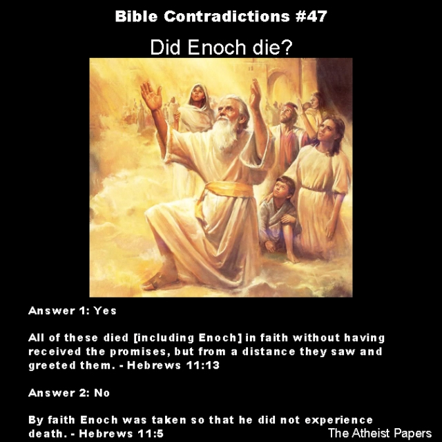 Bible contradictions 47
