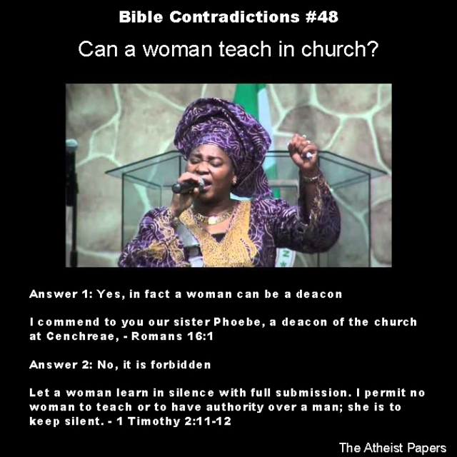 Bible contradictions 48