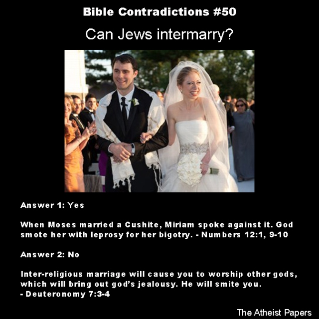 Bible contradictions 50