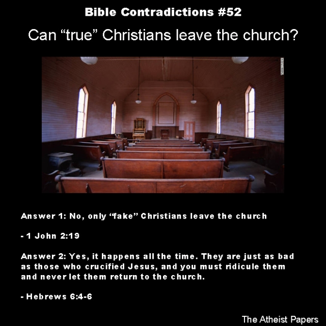 Bible contradictions 52