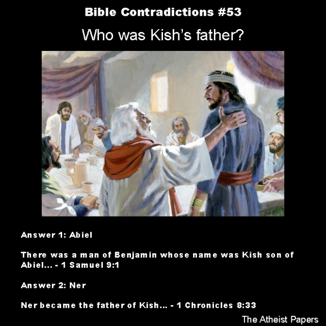 Bible contradictions 53