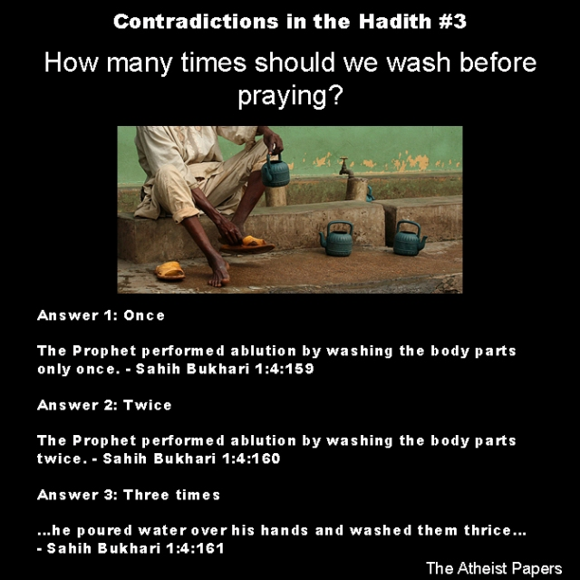 contradictions in the hadith 3