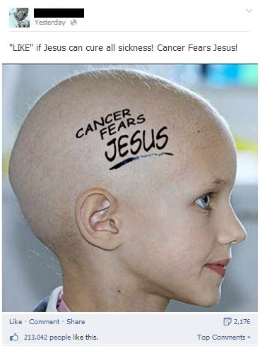 cancer jesus